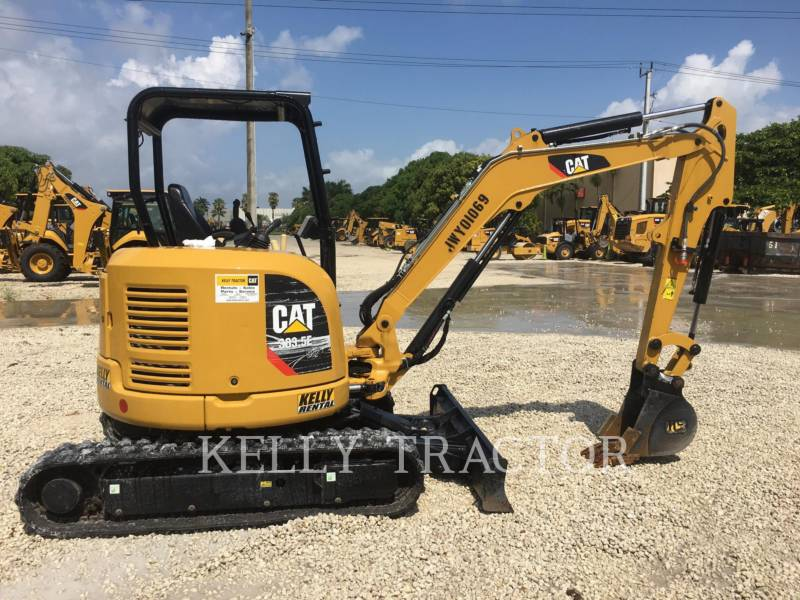 CATERPILLAR KETTEN-HYDRAULIKBAGGER 303.5E2CR equipment  photo 6