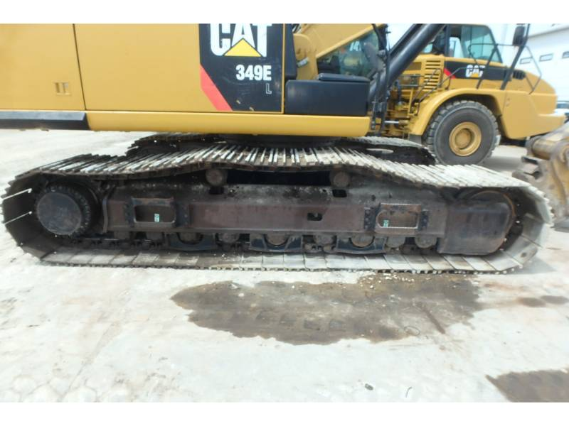 CATERPILLAR KETTEN-HYDRAULIKBAGGER 349EL equipment  photo 12