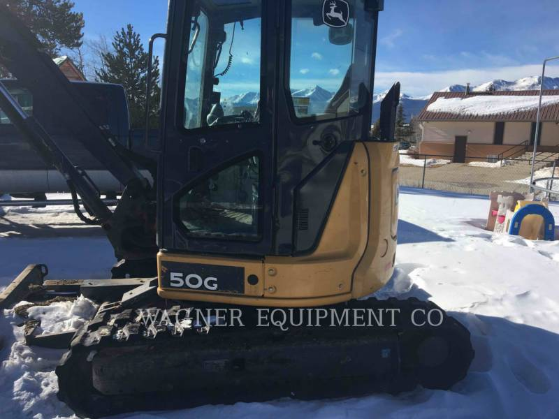 JOHN DEERE PELLE MINIERE EN BUTTE 50GS equipment  photo 10