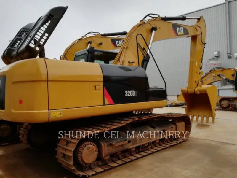 CATERPILLAR TRACK EXCAVATORS 326D2 equipment  photo 4