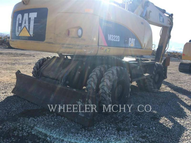 CATERPILLAR TRACK EXCAVATORS M322D equipment  photo 2