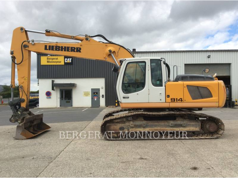 LIEBHERR PELLES SUR CHAINES R914C equipment  photo 3