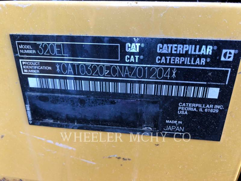 CATERPILLAR トラック油圧ショベル 320E L CF equipment  photo 10