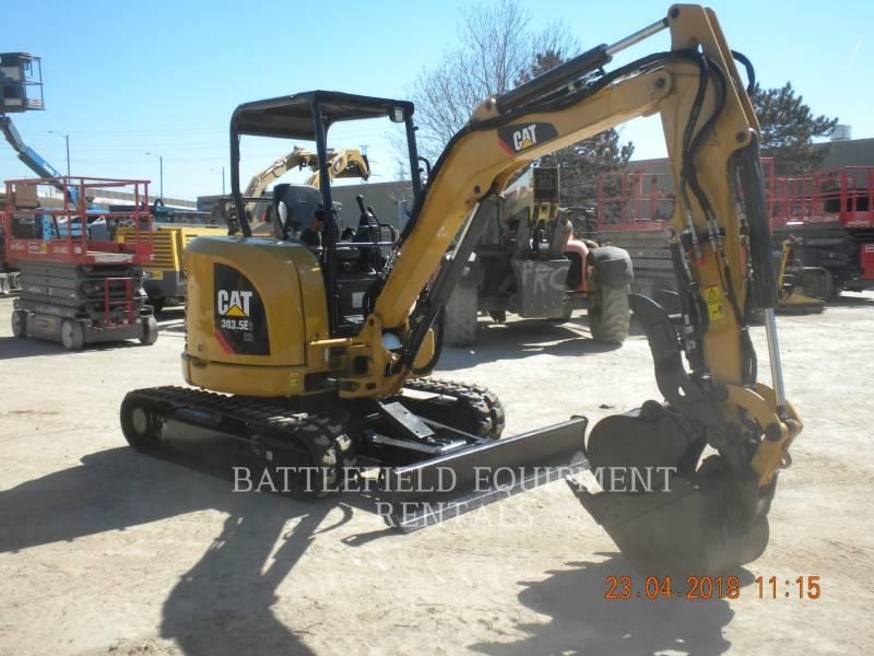 CATERPILLAR ESCAVADEIRAS 303.5E2 CR equipment  photo 3