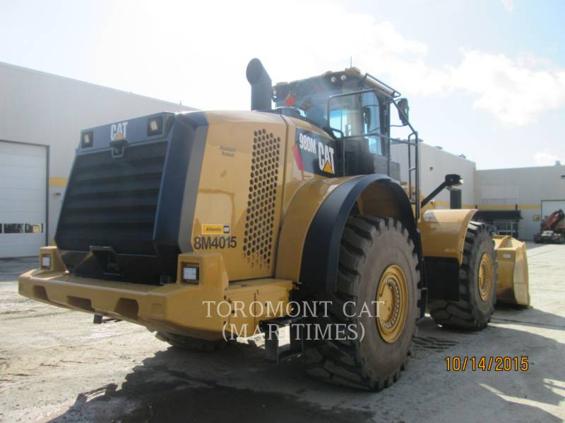 CATERPILLAR WHEEL LOADERS/INTEGRATED TOOLCARRIERS 980 M AGGREGATE HANDLER equipment  photo 3