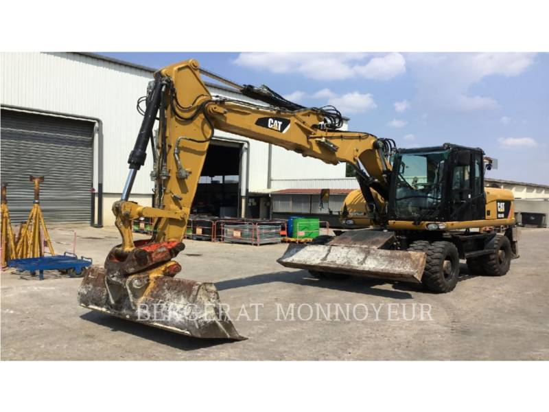 CATERPILLAR ESCAVATORI GOMMATI M316D equipment  photo 1