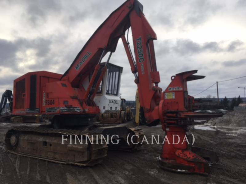 MADILL FORESTRY - FELLER BUNCHERS T2250C equipment  photo 4