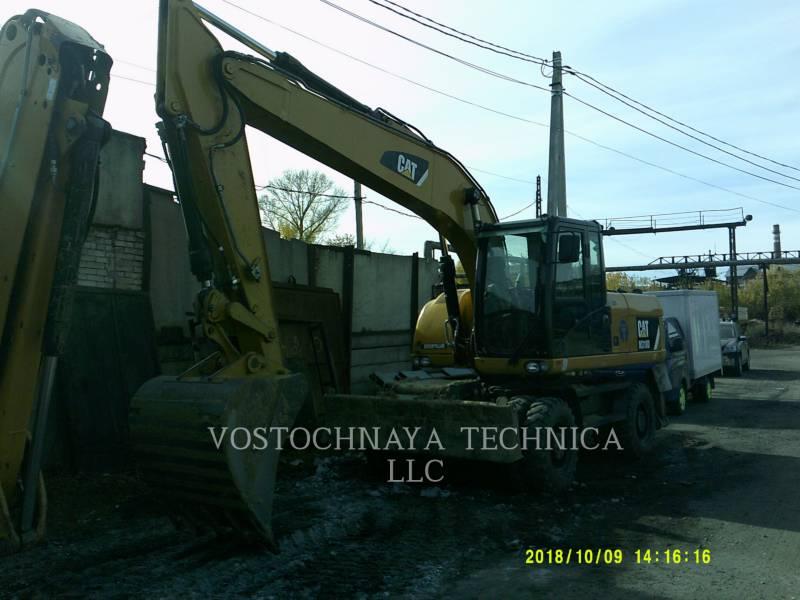 Caterpillar EXCAVATOARE PE ROŢI M318D equipment  photo 4