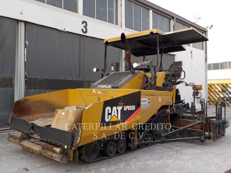 CATERPILLAR PAVIMENTADORA DE ASFALTO AP-655D equipment  photo 2
