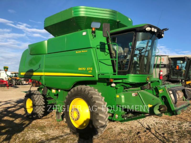 DEERE & CO. コンバイン 9670STS equipment  photo 5