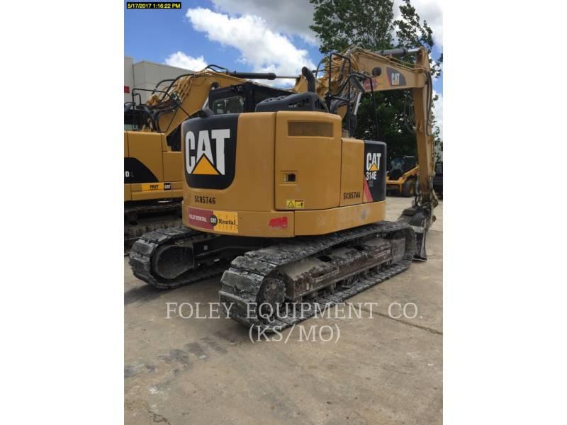 CATERPILLAR トラック油圧ショベル 314ELCR9 equipment  photo 4