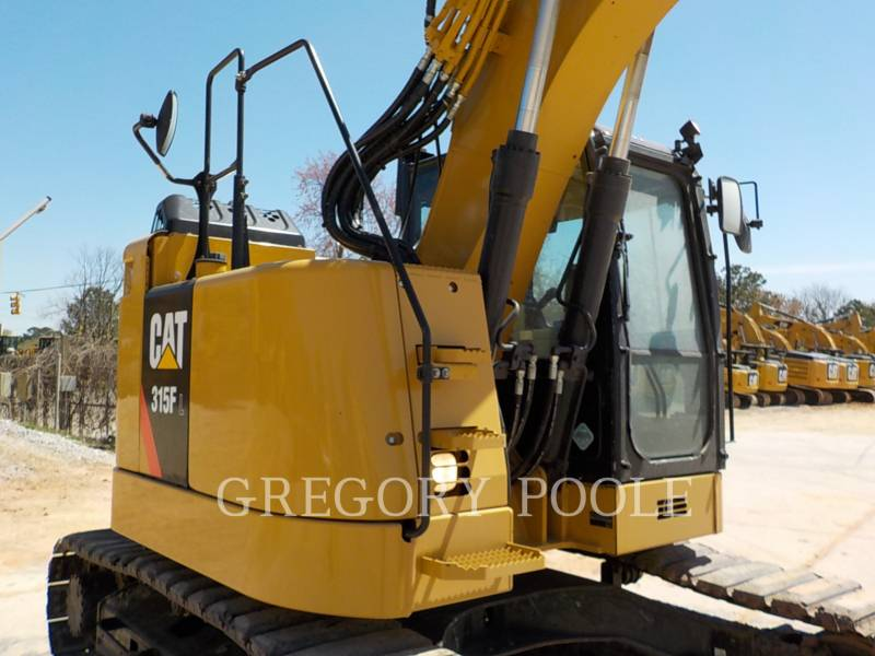 CATERPILLAR TRACK EXCAVATORS 315FLCR equipment  photo 5