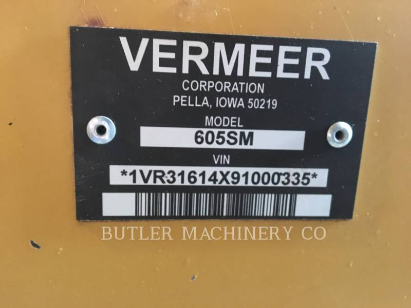 VERMEER AG HAY EQUIPMENT 605SM equipment  photo 7