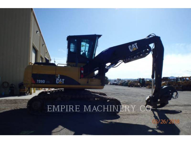 CATERPILLAR EXCAVADORAS DE CADENAS 320D FM LL equipment  photo 3