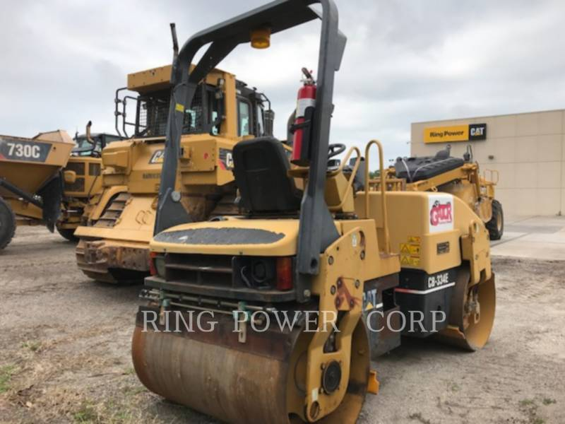 CATERPILLAR TAMBOR DOBLE VIBRATORIO ASFALTO CB-334EII equipment  photo 3