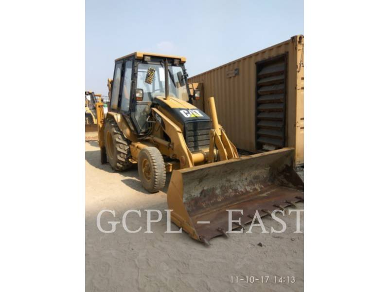 CATERPILLAR BACKHOE LOADERS 424 B equipment  photo 1