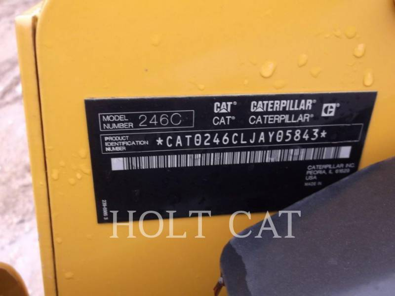 CATERPILLAR SKID STEER LOADERS 246C CAB equipment  photo 5