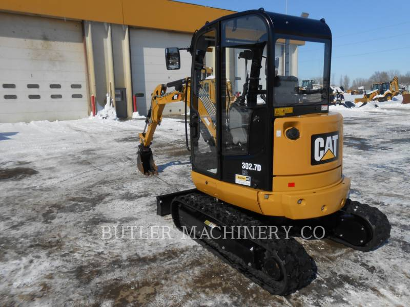 Caterpillar EXCAVATOARE PE ŞENILE 302.7DCR equipment  photo 3