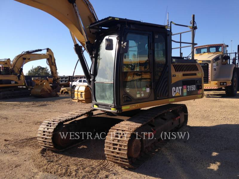 CATERPILLAR TRACK EXCAVATORS 315DL equipment  photo 5