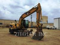 Equipment photo CATERPILLAR M318C ESCAVATORI GOMMATI 1