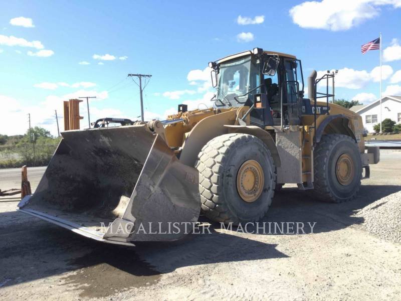CATERPILLAR CARGADORES DE RUEDAS 980H equipment  photo 1