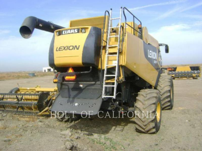 LEXION COMBINE COMBINE 570R G11074 equipment  photo 8