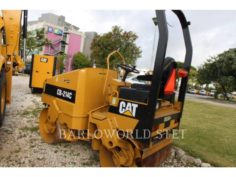 CATERPILLAR TAMBOR DOBLE VIBRATORIO ASFALTO CB-214C equipment  photo 2