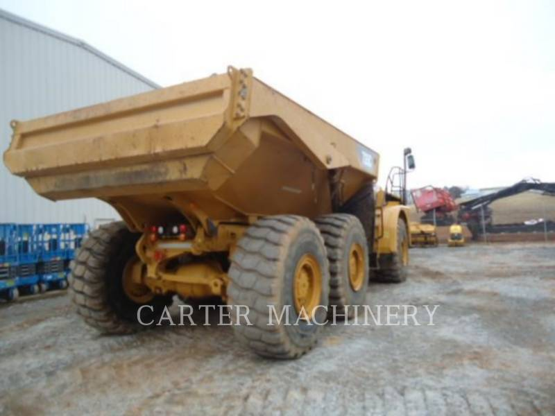 CATERPILLAR KNICKGELENKTE MULDENKIPPER 735C TG equipment  photo 6