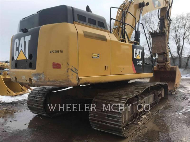 CATERPILLAR TRACK EXCAVATORS 349E L THM equipment  photo 5