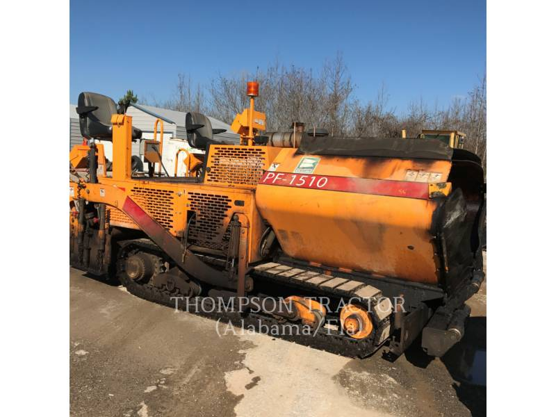 BLAW KNOX / INGERSOLL-RAND ASPHALT PAVERS PF-1510 equipment  photo 2