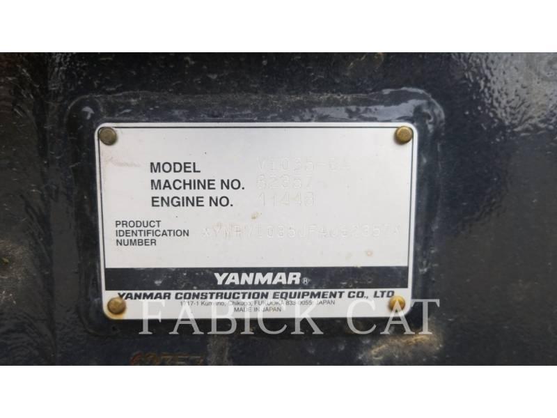 YANMAR TRACK EXCAVATORS VIO35 equipment  photo 14