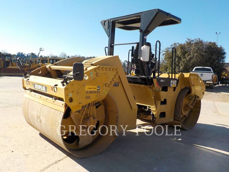 CATERPILLAR VIBRATORY DOUBLE DRUM ASPHALT CB-54 equipment  photo 12