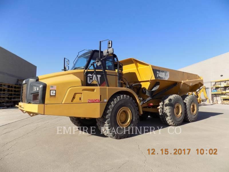 CATERPILLAR MULDENKIPPER 740B TG equipment  photo 4