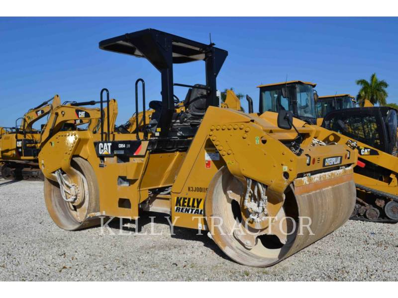 CATERPILLAR TANDEMVIBRATIONSWALZE, ASPHALT CB54 equipment  photo 3