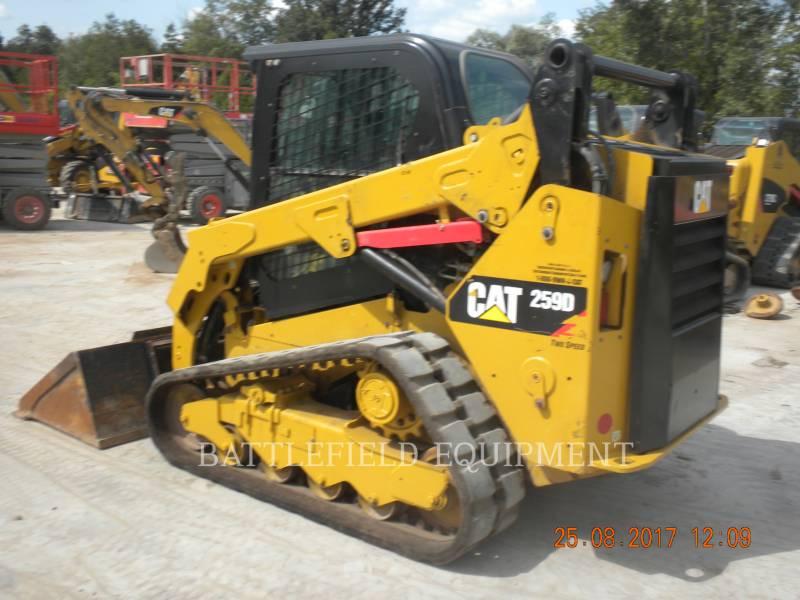 CATERPILLAR 多様地形対応ローダ 259DLRC equipment  photo 4