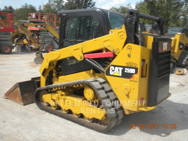 CATERPILLAR CARGADORES MULTITERRENO 259DLRC equipment  photo 4