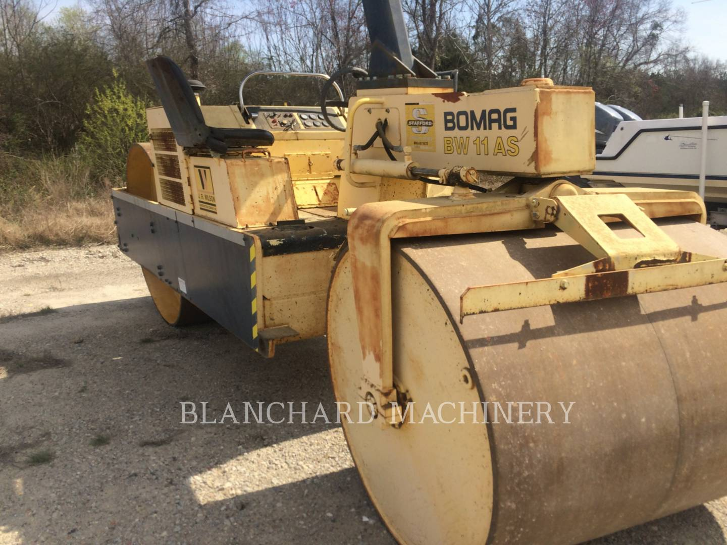 Detail photo of 1988 Bomag BW11AS from Construction Equipment Guide