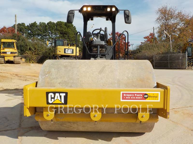 CATERPILLAR VIBRATORY SINGLE DRUM SMOOTH CS-54B equipment  photo 7