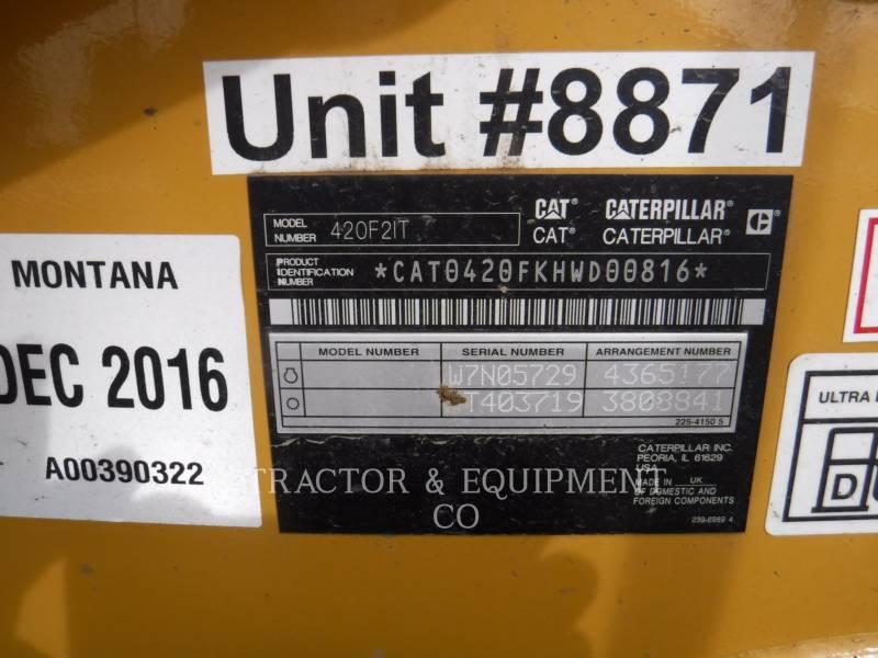 CATERPILLAR RETROESCAVADEIRAS 420F24ETCB equipment  photo 2