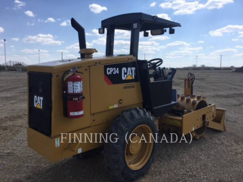 CATERPILLAR COMPACTEUR VIBRANT, MONOCYLINDRE À PIEDS DAMEURS CP34 equipment  photo 5