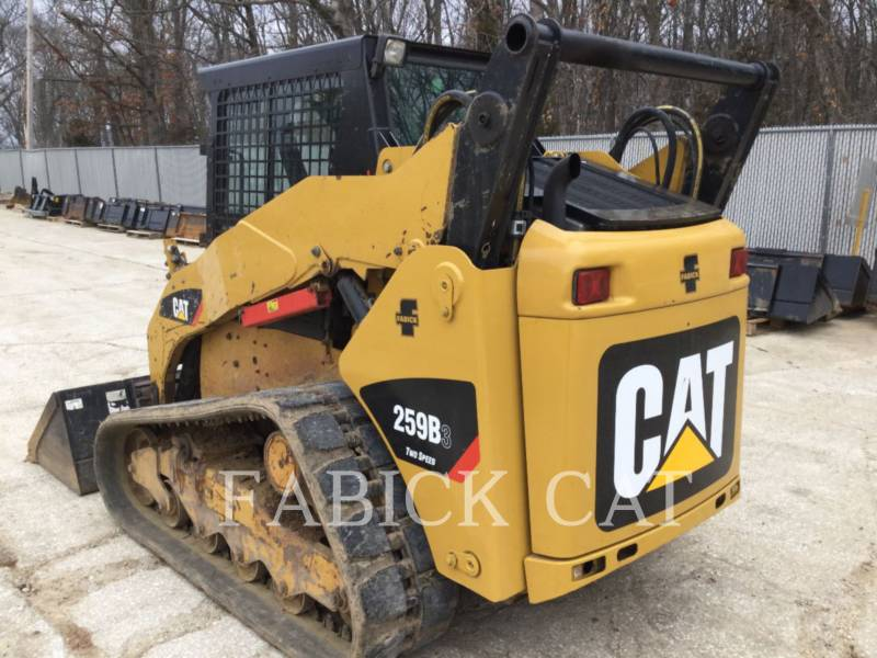 CATERPILLAR CHARGEURS TOUT TERRAIN 259B3 C3 equipment  photo 2