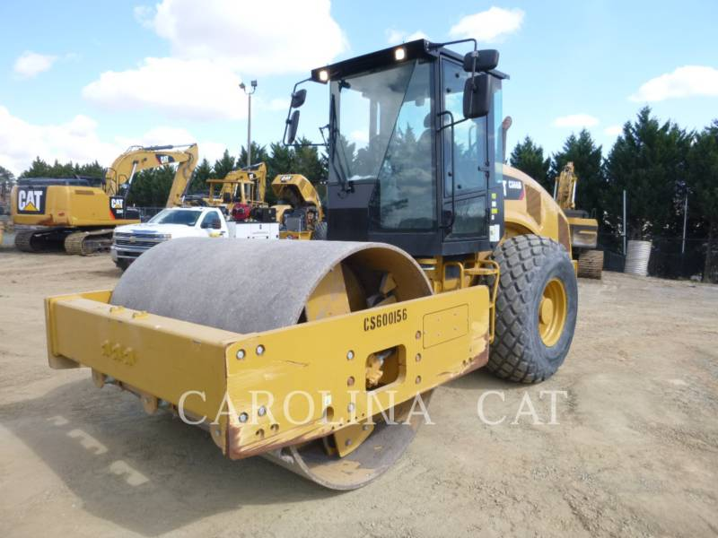CATERPILLAR EINZELVIBRATIONSWALZE, GLATTBANDAGE CS66B equipment  photo 5