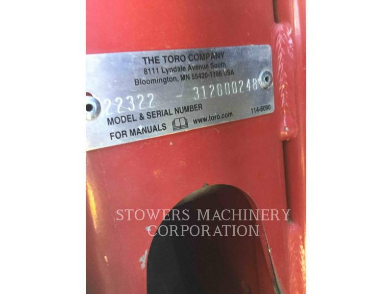 TORO AUTRES TX427 equipment  photo 10