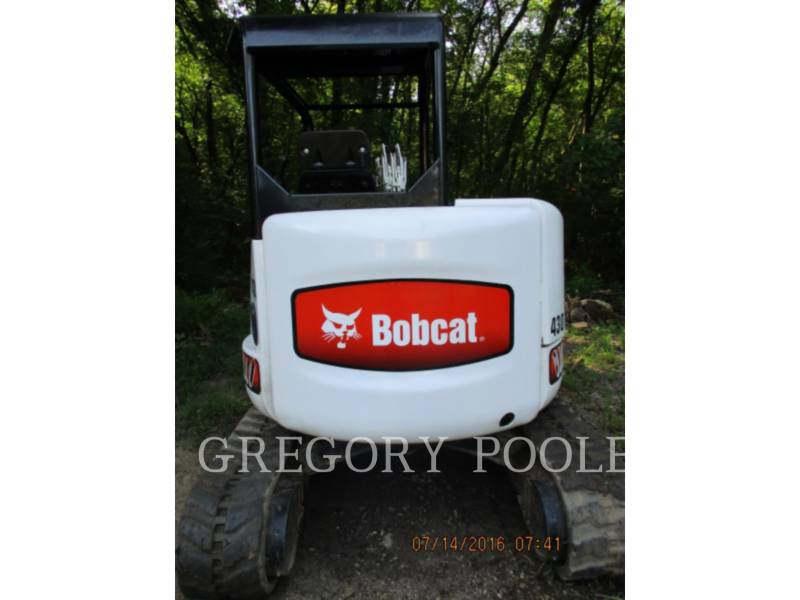 BOBCAT TRACK EXCAVATORS 430 BOB equipment  photo 5