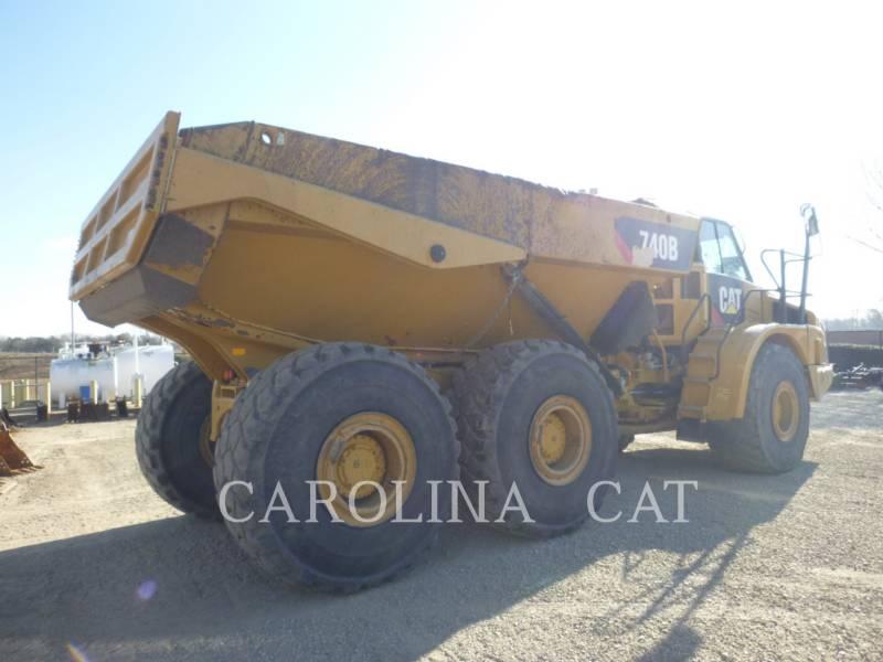 CATERPILLAR アーティキュレートトラック 740B WT equipment  photo 4