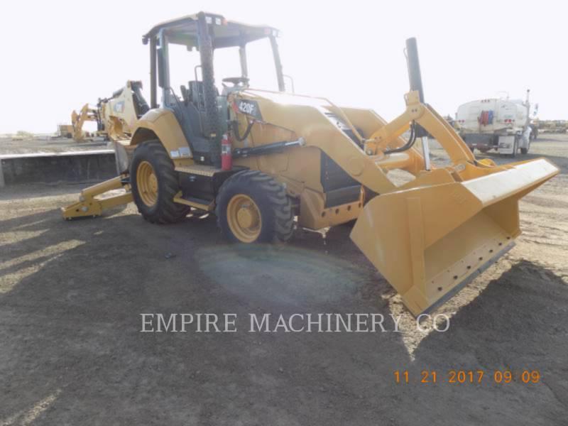 CATERPILLAR BACKHOE LOADERS 420F2 4EO equipment  photo 1