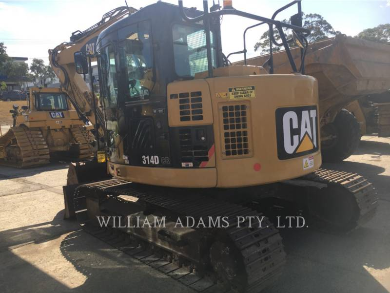 CATERPILLAR TRACK EXCAVATORS 314DCR equipment  photo 2