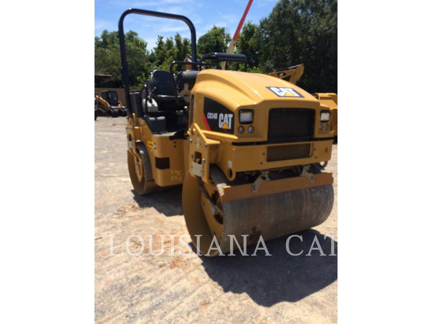 Detail photo of 2014 Caterpillar CB34B from Construction Equipment Guide