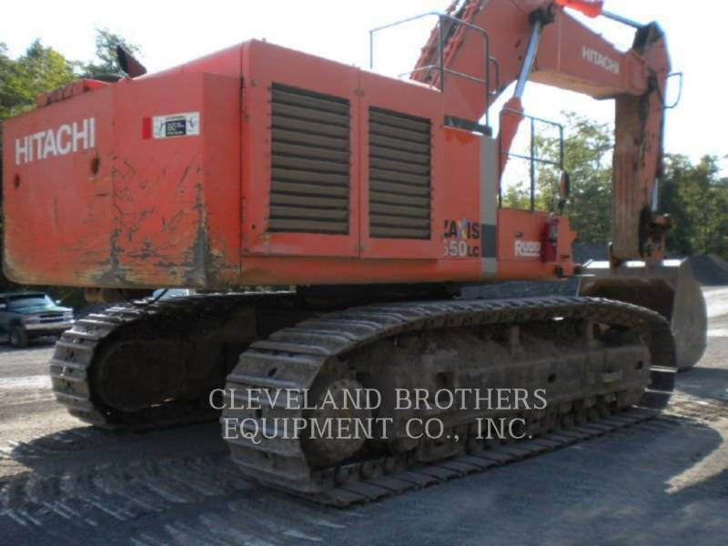 HITACHI KETTEN-HYDRAULIKBAGGER ZX650LC-3 equipment  photo 4