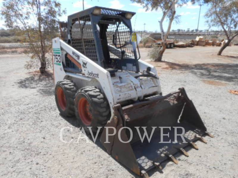 BOBCAT CHARGEURS COMPACTS RIGIDES 753 equipment  photo 1